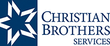 Christian Brothers Services blue and white logo