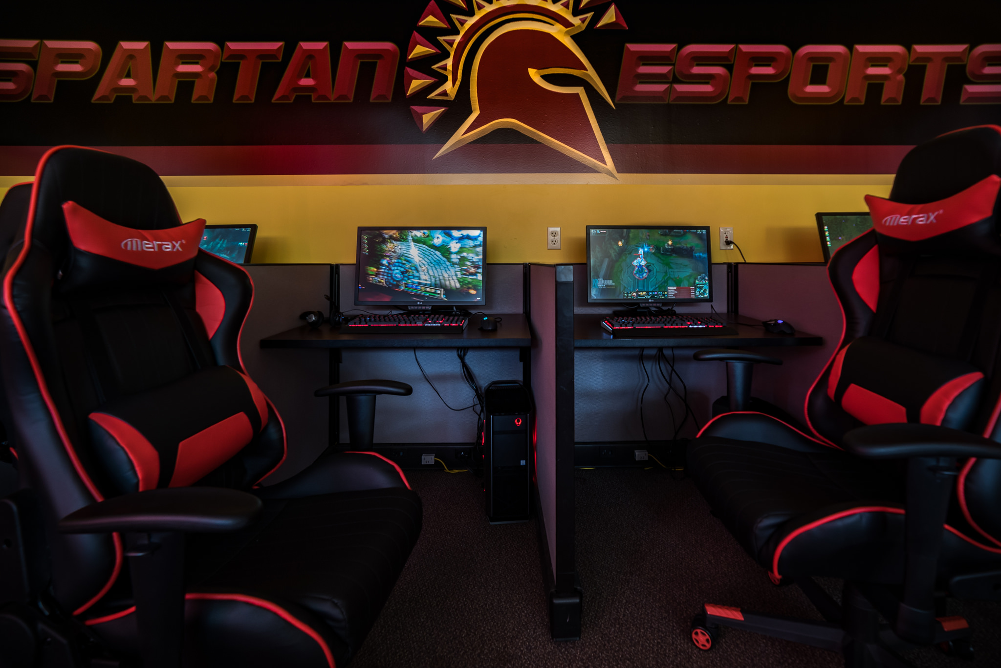 The new Spartan eSports zone