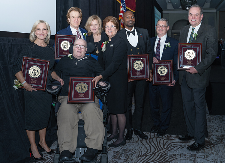 2020 Hall of Fame Inductees and Dr. Margaret Fitzpatrick
