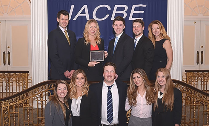 students win first in business competition