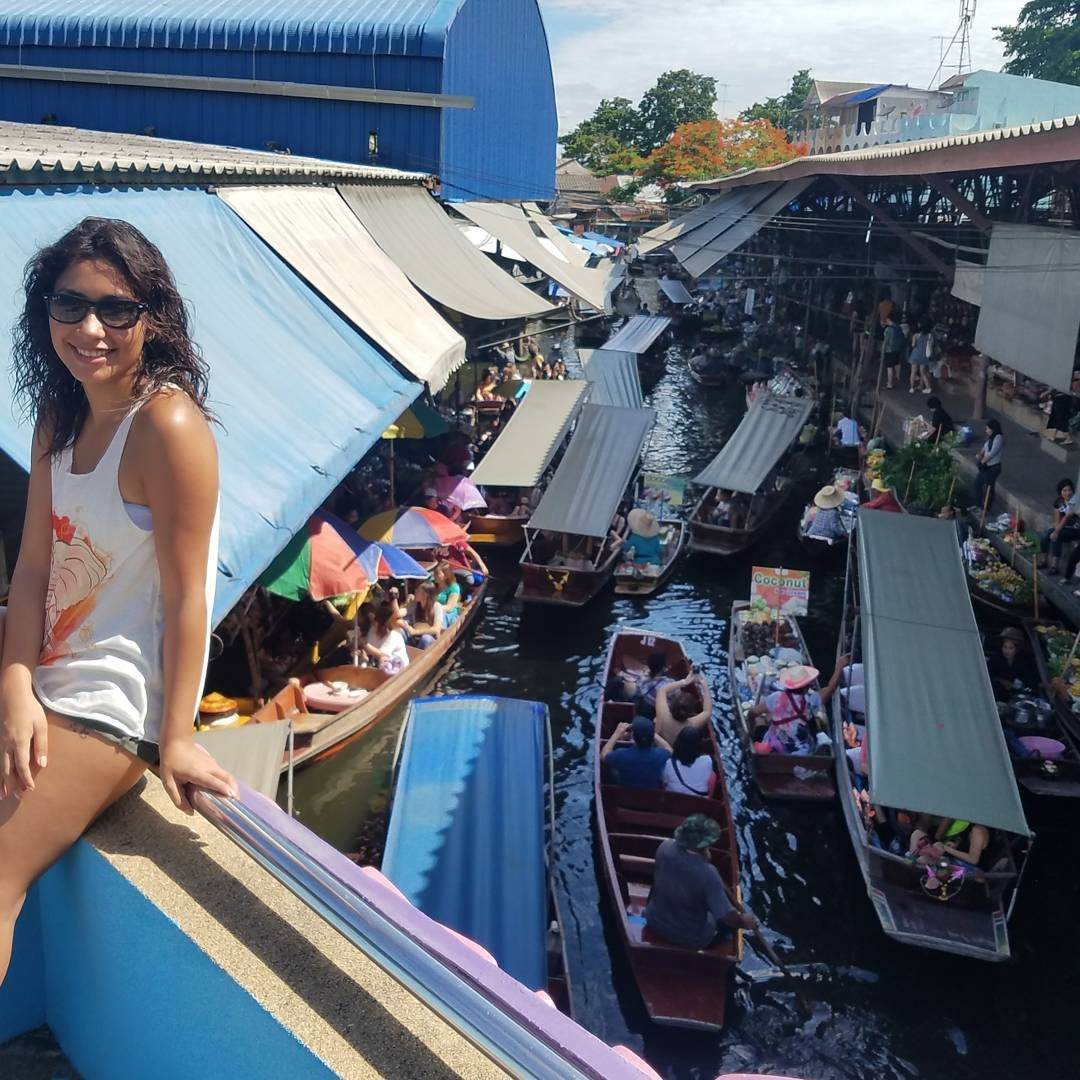 Johana at Floating Market