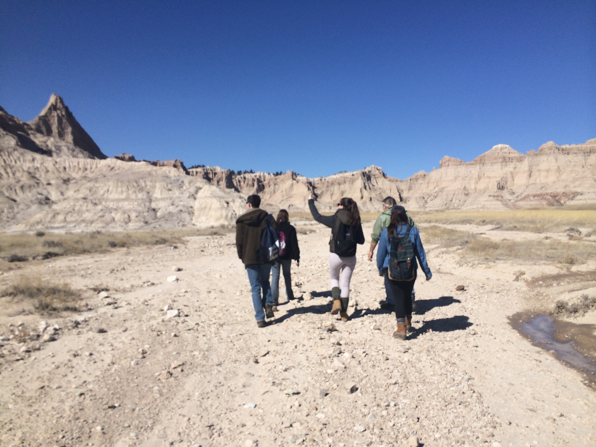 Students at Pine Ridge Indian Reservation