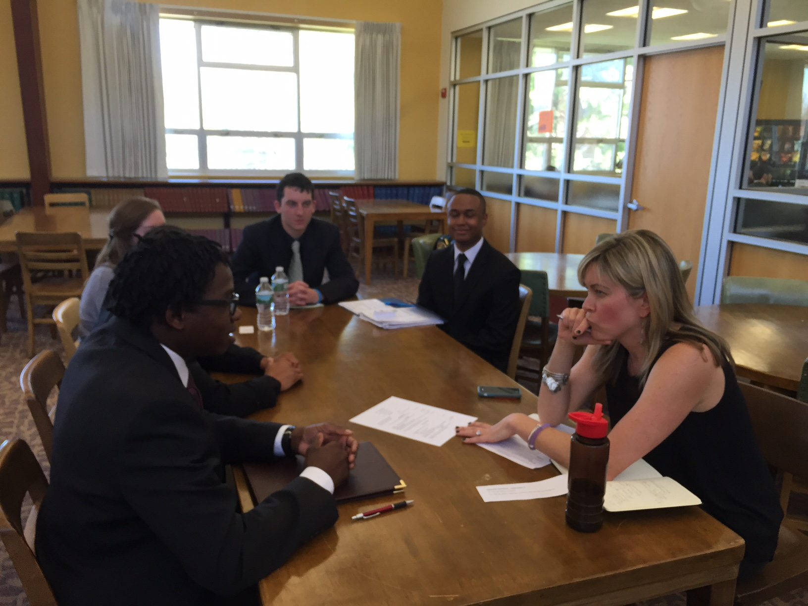 students gain extra insight mock interviews