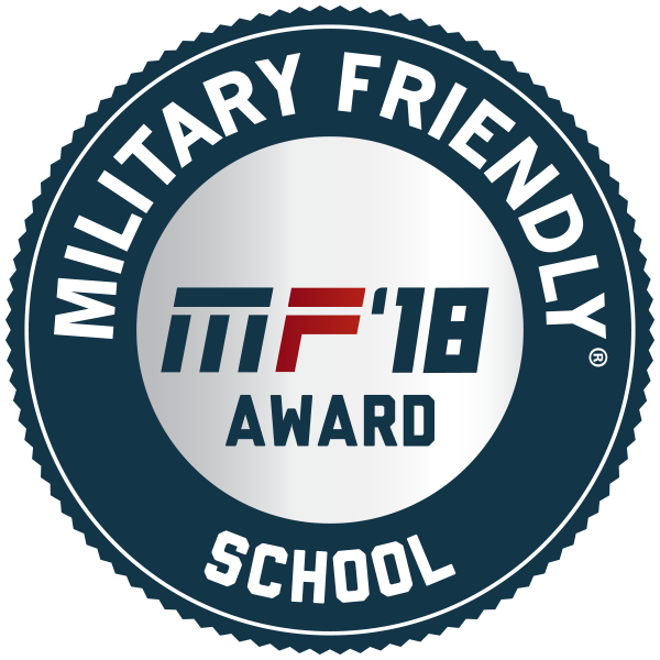 image of military friendly 2018 badge