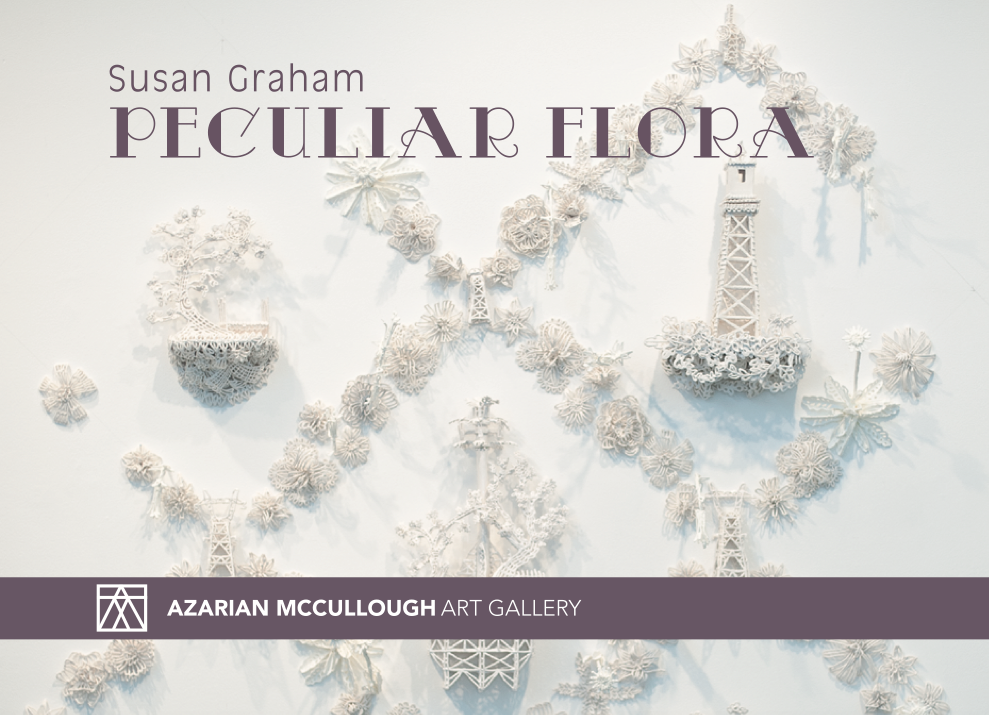 "exhibition ""Peculiar Flora"" by Susan Graham"