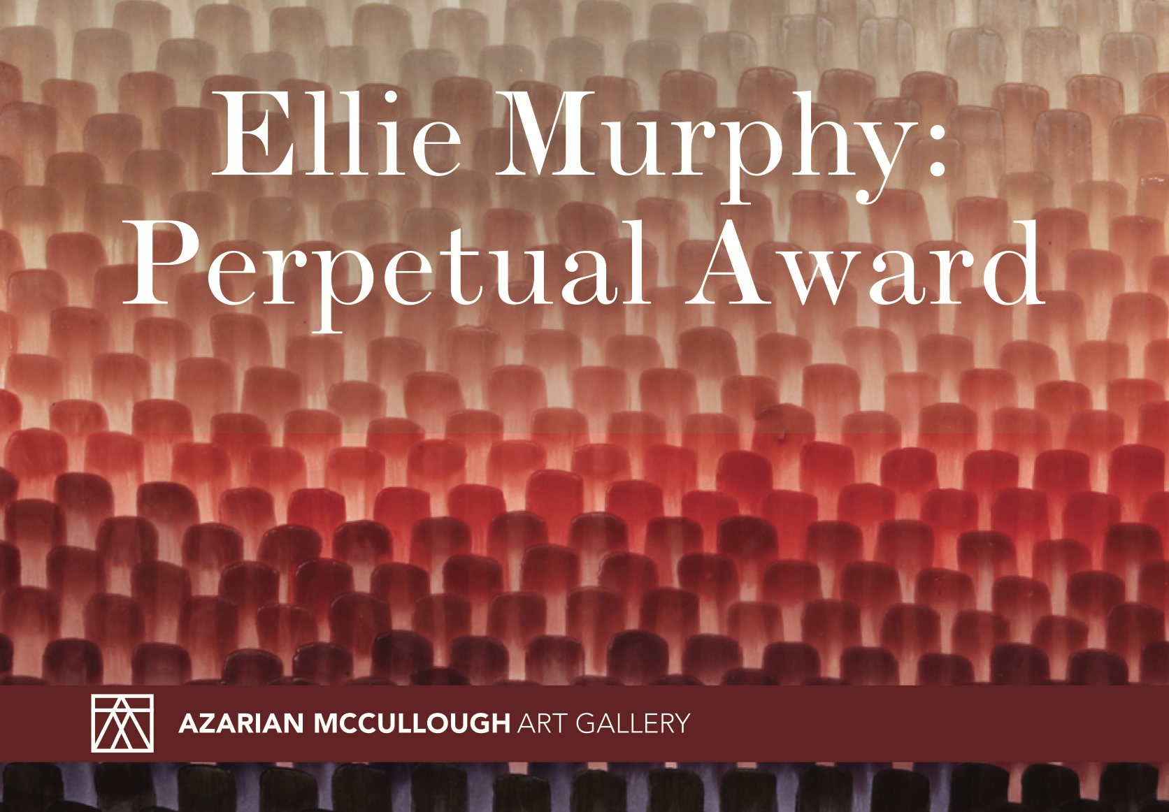 "Pamplet of exhibition ""Perpetual Award"" by Ellie Murphy"