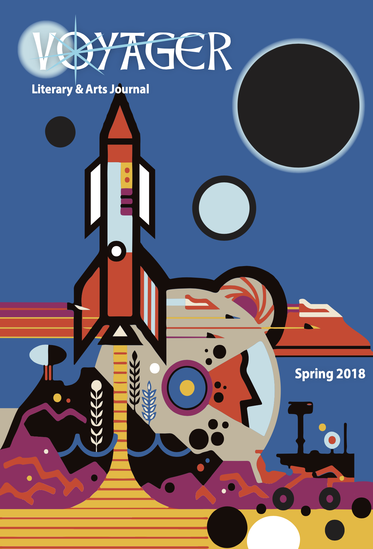 Voyager 2018 cover