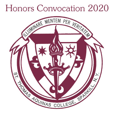 Honors Convocation 2020 Header with St. Thomas Aquinas College Seal