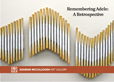 "Pamphlet of ""Remembering Adele: A retrospective"""