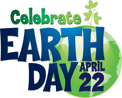 Poster for celebrate Earth Day April 22