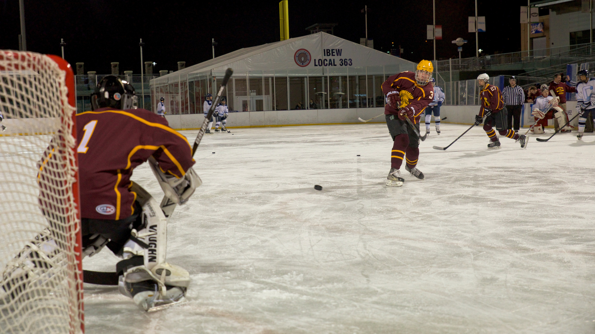 Stac Ice Hockey during a match