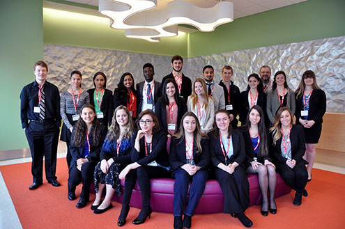 students visit to pharmaceutical company