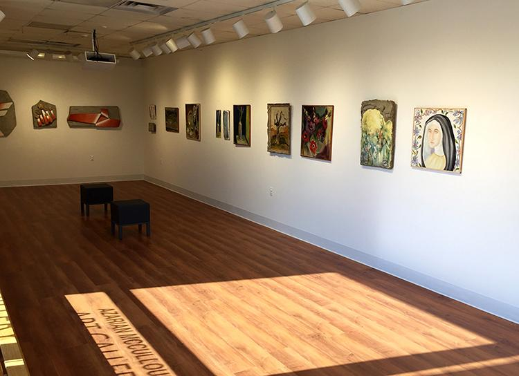art being exposed at Azarian McCullough Gallery