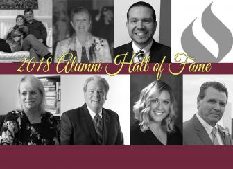 collage image of hall of fame inductees