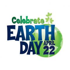 Earth Day graphic for April 22