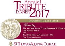 Banner of the 2017 Annual Tribute Dinner