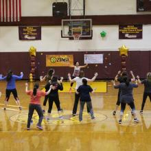Participants in last years Zumba for Autism program