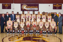 Team picture of the Men's Basketball Team