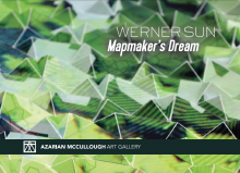 """Poster of """"Mapmaker's Dream"""" by Werner Sun"""