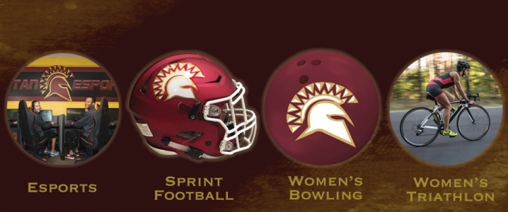 image with four new sports logos